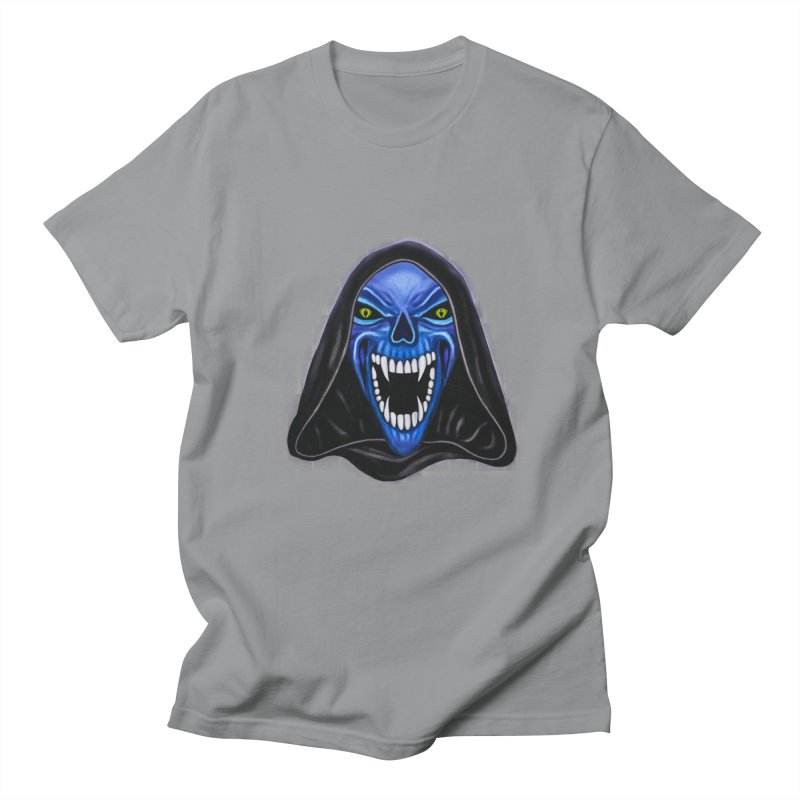 Blue Ghost Men's T-shirt by Glitchway Store
