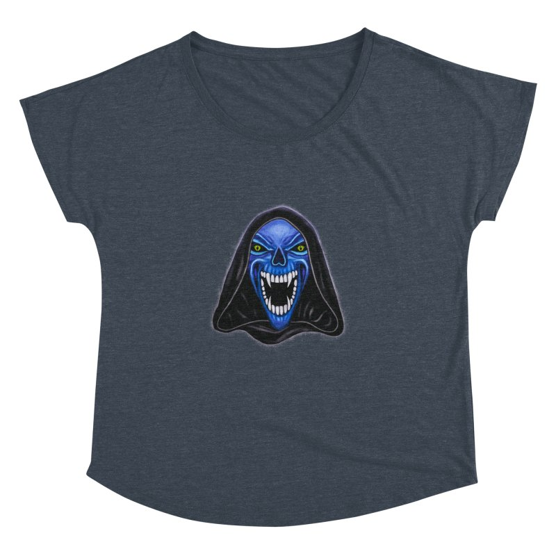 Blue Ghost Women's Dolman by Glitchway Store
