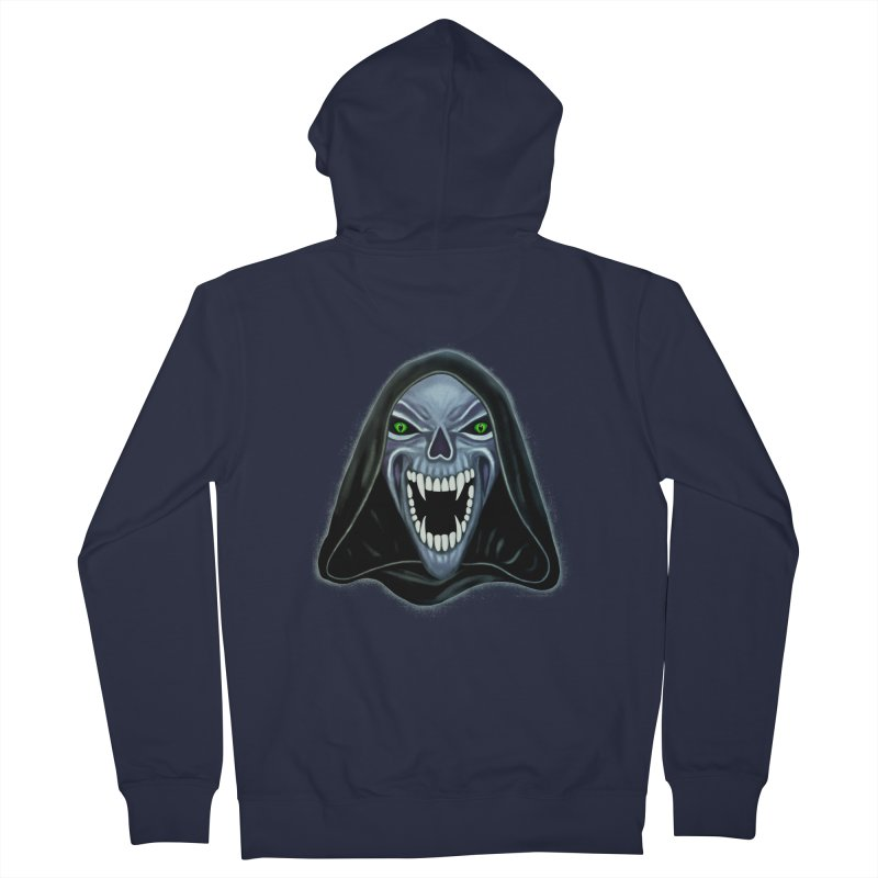 Ghost Darkness Men's Zip-Up Hoody by Glitchway Store