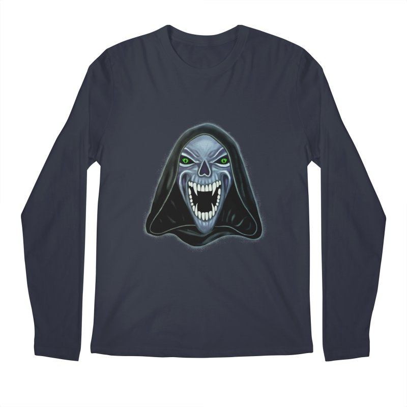 Ghost Darkness Men's Longsleeve T-Shirt by Glitchway Store