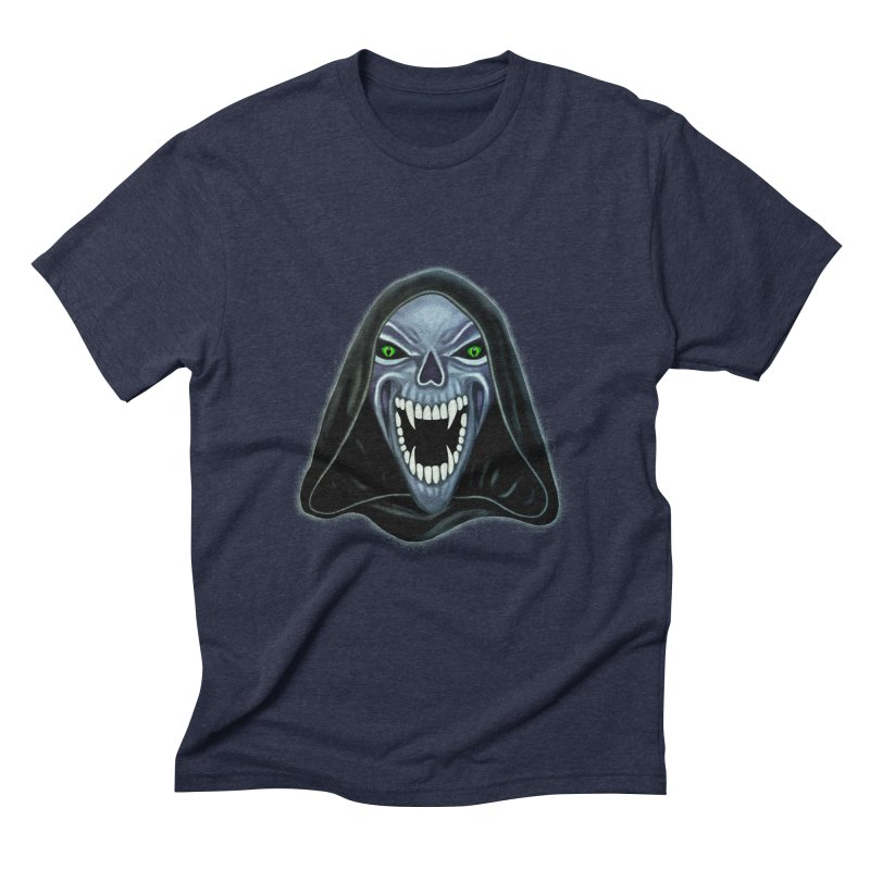 Ghost Darkness Men's Triblend T-Shirt by Glitchway Store