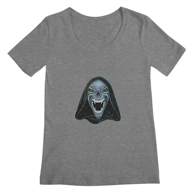 Ghost Darkness Women's Scoopneck by Glitchway Store