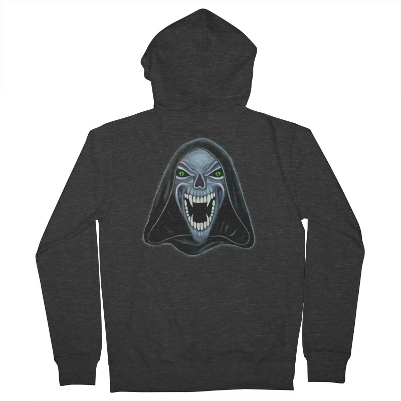 Ghost Darkness Women's Zip-Up Hoody by Glitchway Store