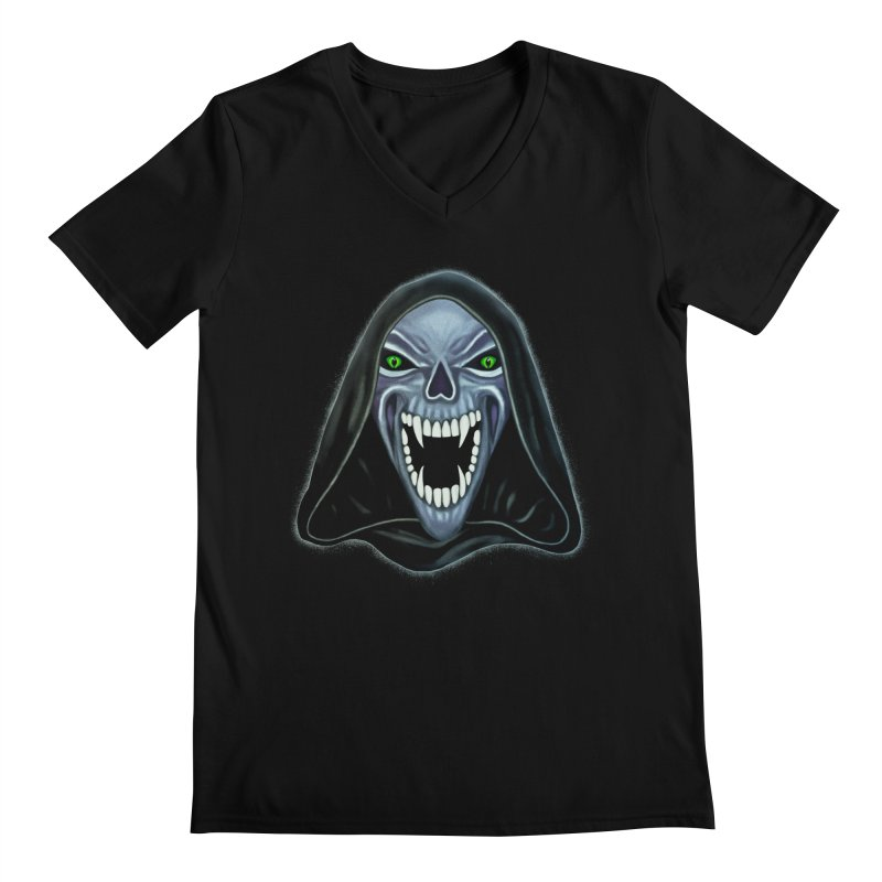 Ghost Darkness Men's V-Neck by Glitchway Store