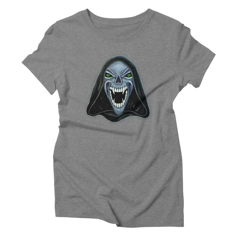 Ghost Darkness Women's Triblend T-Shirt by Glitchway Store