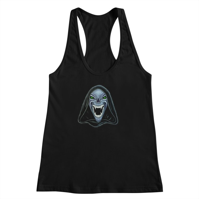 Ghost Darkness Women's Racerback Tank by Glitchway Store