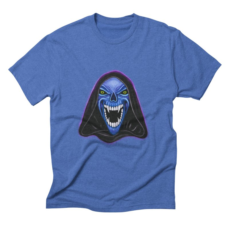 Ghost Men's Triblend T-Shirt by Glitchway Store