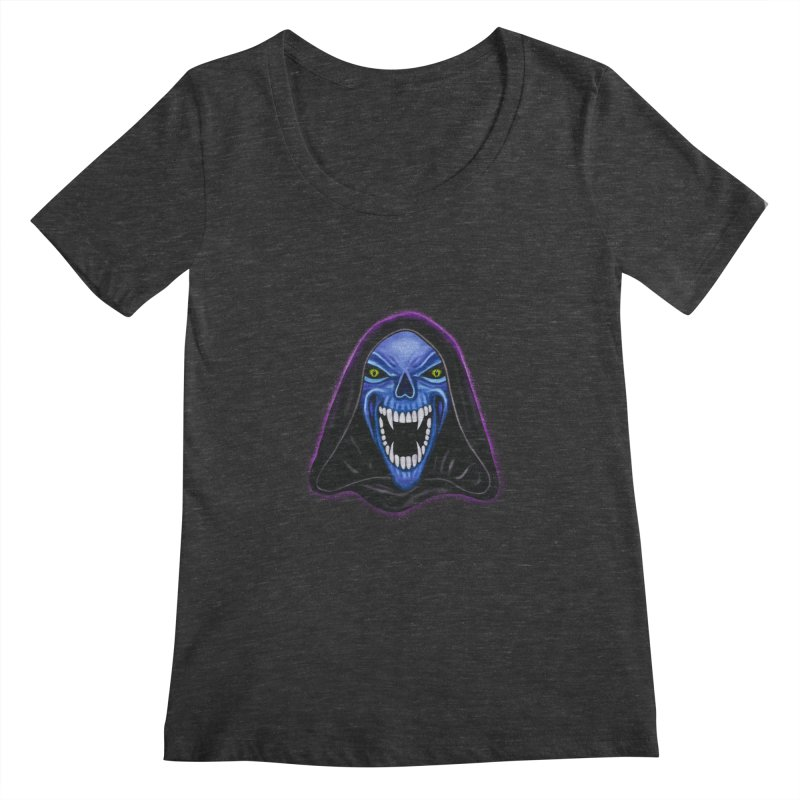 Ghost Women's Scoopneck by Glitchway Store