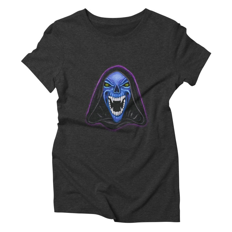 Ghost Women's Triblend T-shirt by Glitchway Store