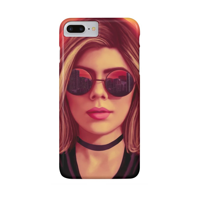 Blonde Accessories Phone Case by Glitchway Store