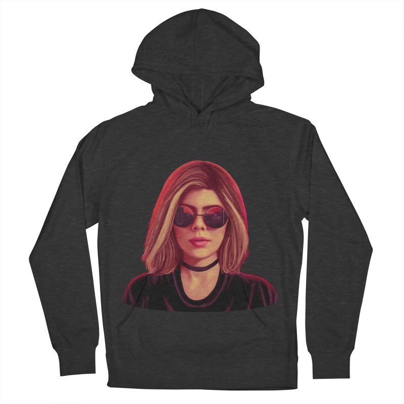 Blonde Women's Pullover Hoody by Glitchway Store