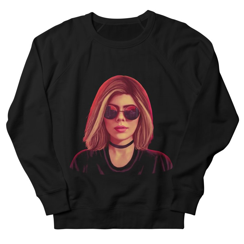 Blonde Women's Sweatshirt by Glitchway Store
