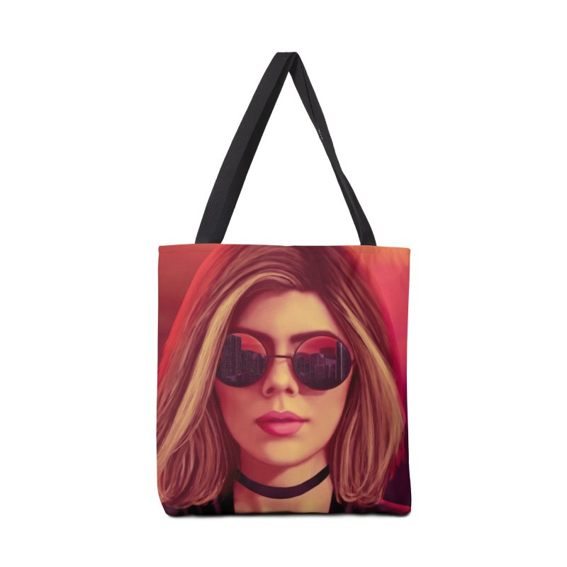 Blonde Accessories Bag by Glitchway Store