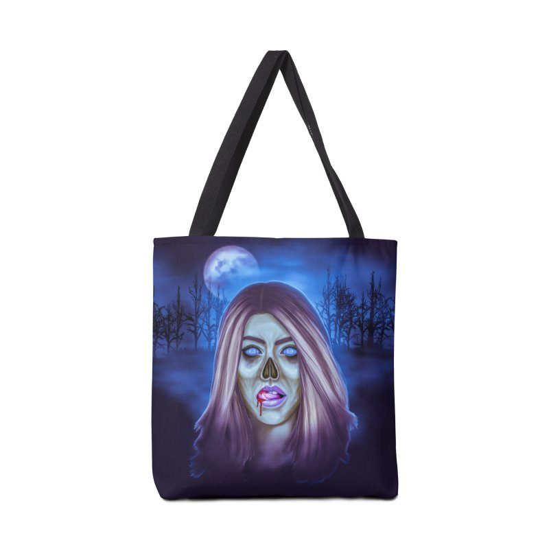 Undead Woman Accessories Bag by Glitchway Store
