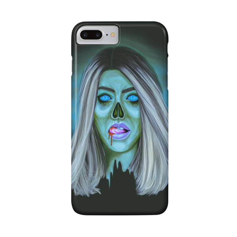 Undead Woman II Accessories Phone Case by Glitchway Store