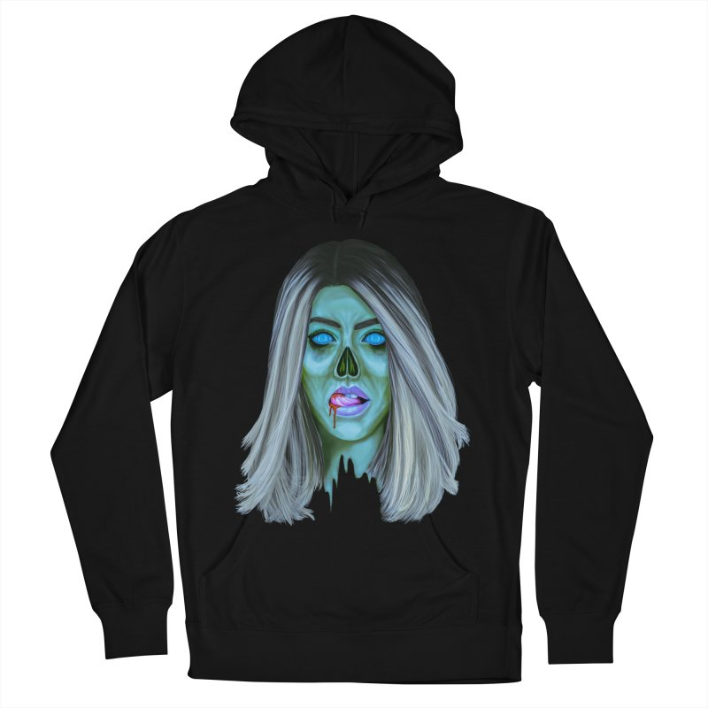 Undead Woman II Women's Pullover Hoody by Glitchway Store