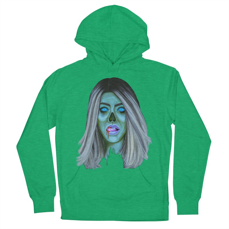 Undead Woman II Men's Pullover Hoody by Glitchway Store