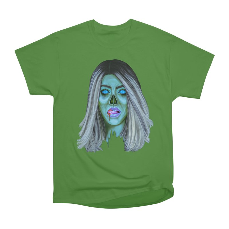 Undead Woman II Women's Classic Unisex T-Shirt by Glitchway Store