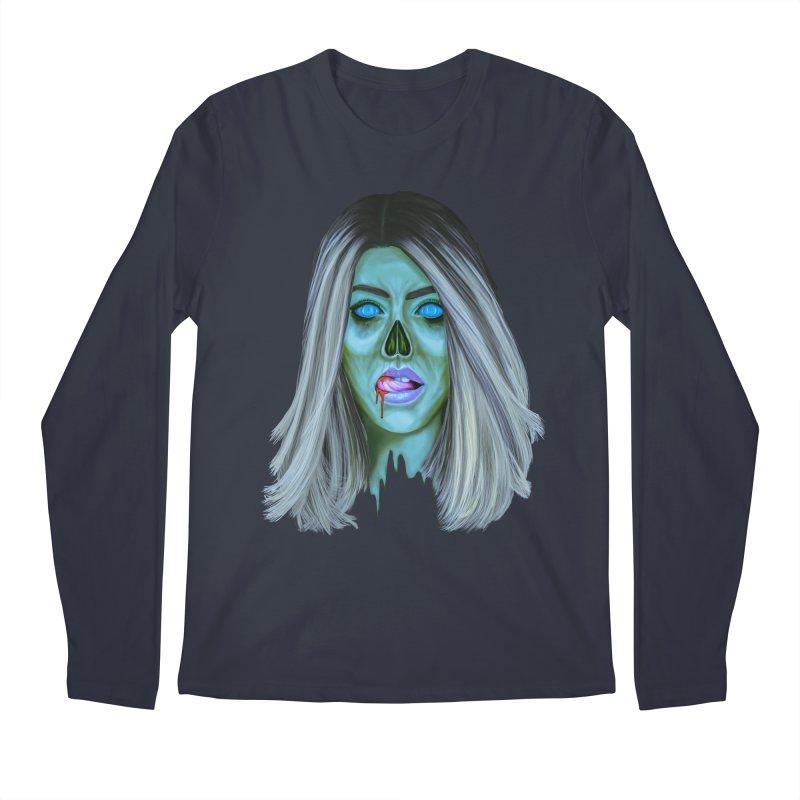 Undead Woman II Men's Longsleeve T-Shirt by Glitchway Store