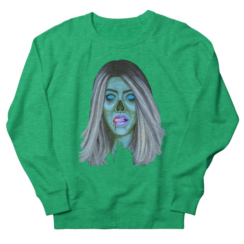 Undead Woman II Women's Sweatshirt by Glitchway Store