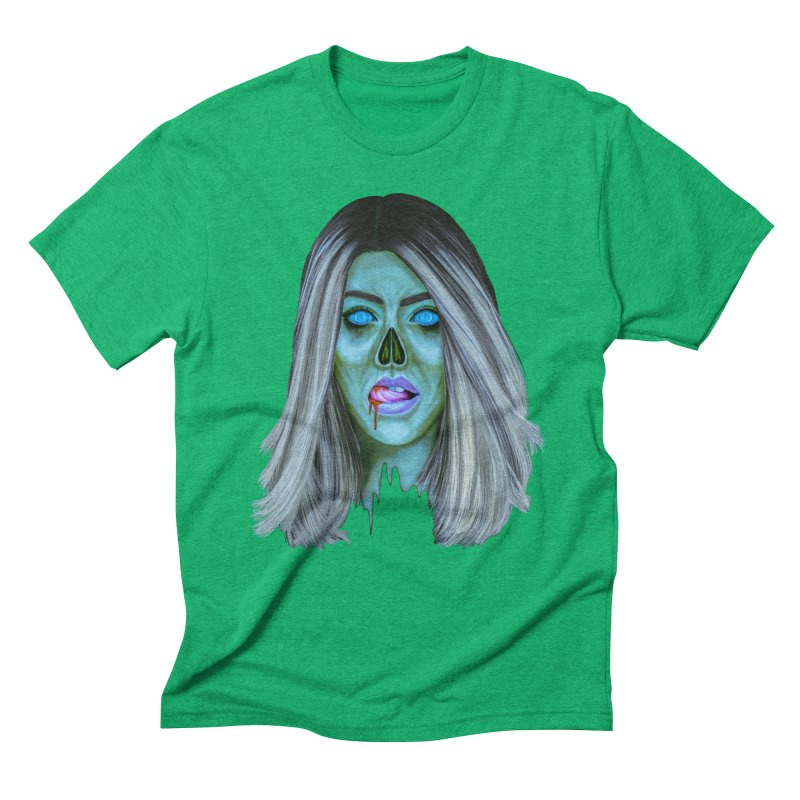 Undead Woman II Men's Triblend T-shirt by Glitchway Store