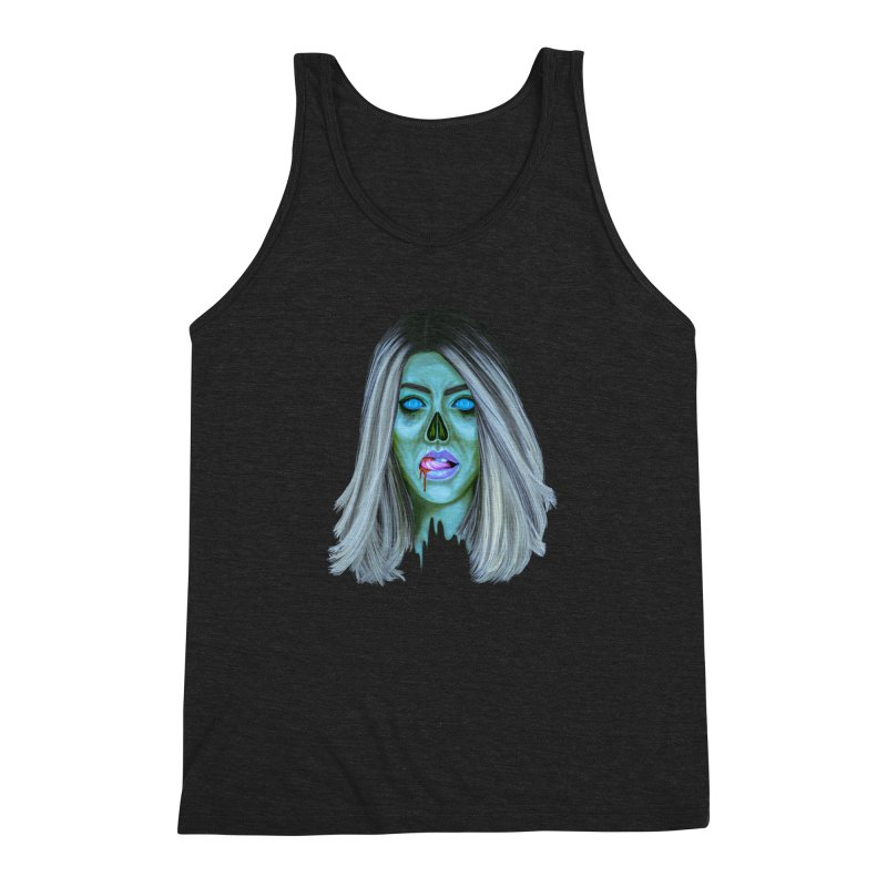 Undead Woman II Men's Triblend Tank by Glitchway Store
