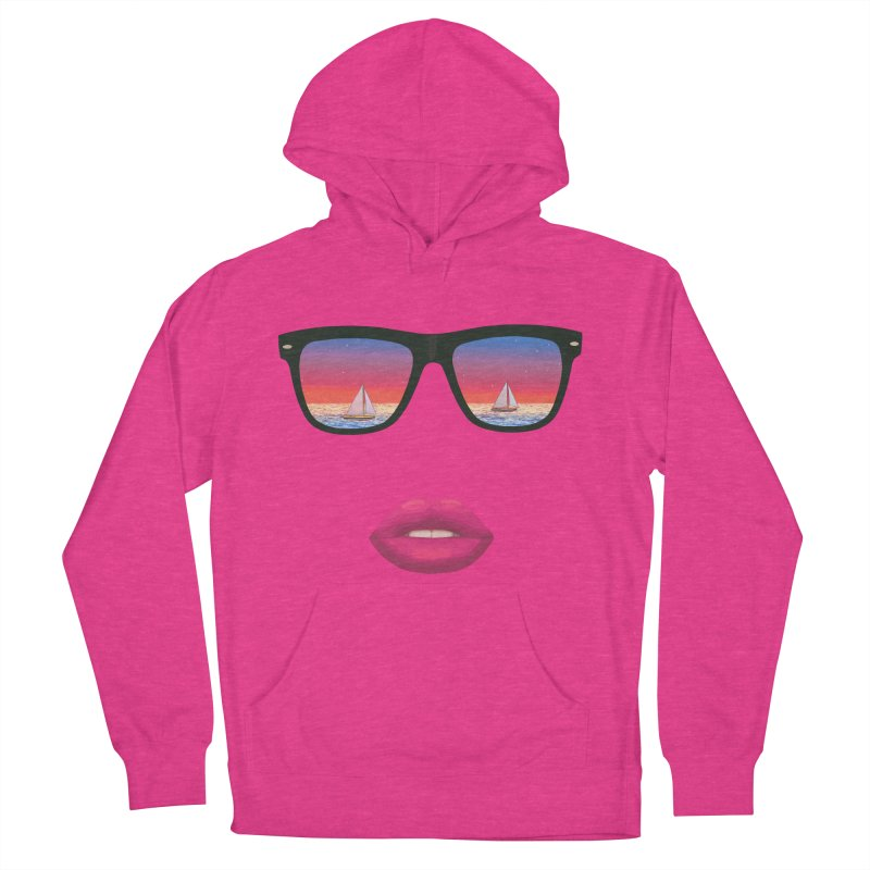 Sailing Dreams Women's Pullover Hoody by Glitchway Store