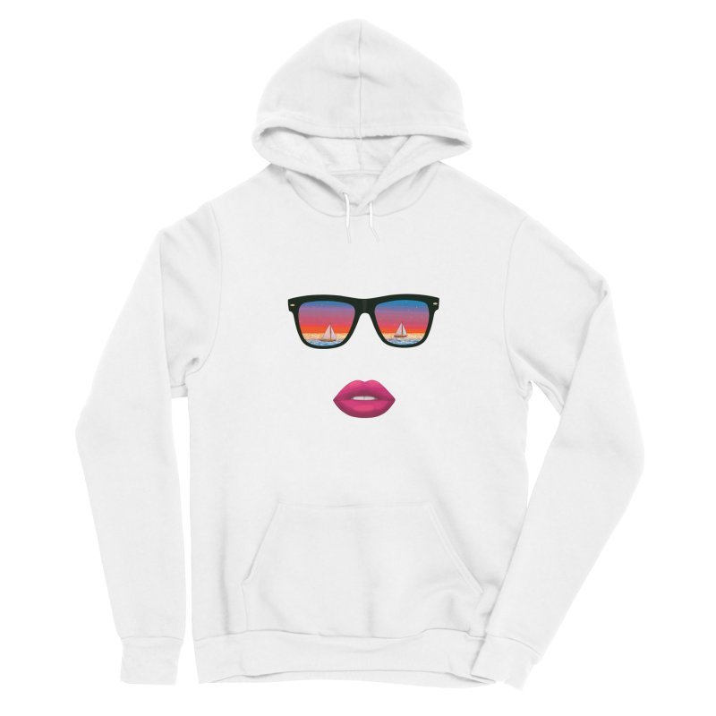 Sailing Dreams Women's Pullover Hoody by The Glitchway