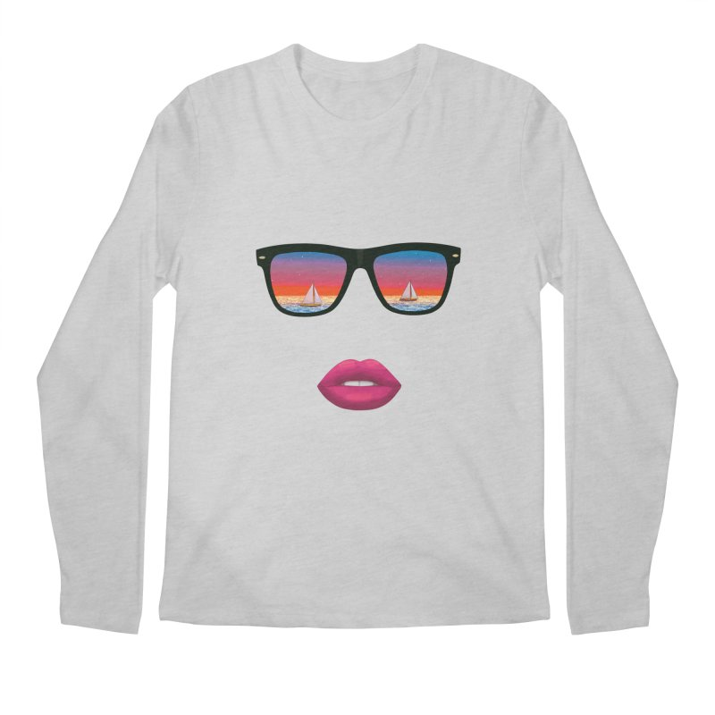Sailing Dreams Men's Longsleeve T-Shirt by The Glitchway