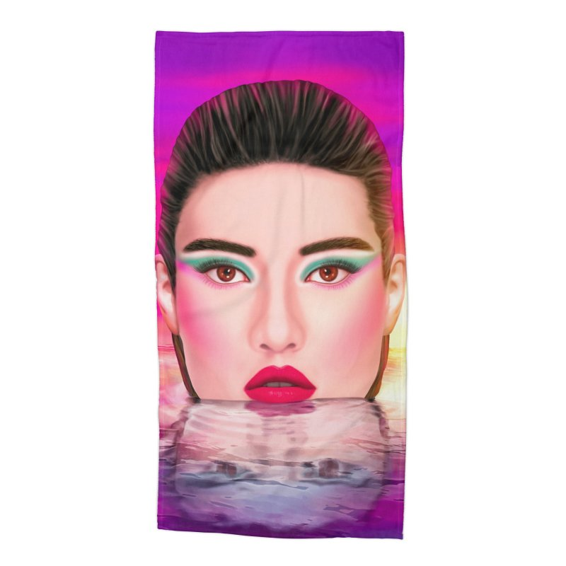Summer Pool Accessories Beach Towel by Glitchway Store