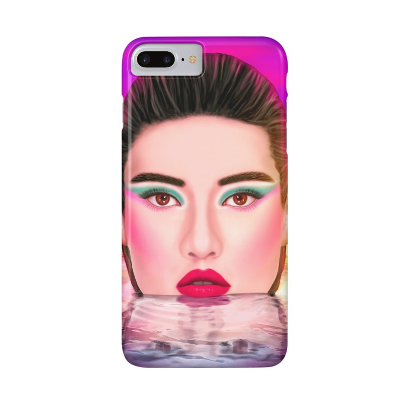 Summer Pool Accessories Phone Case by Glitchway Store