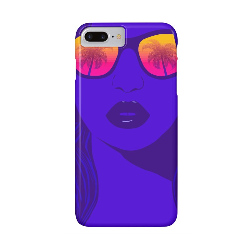 Summertime Accessories Phone Case by Glitchway Store