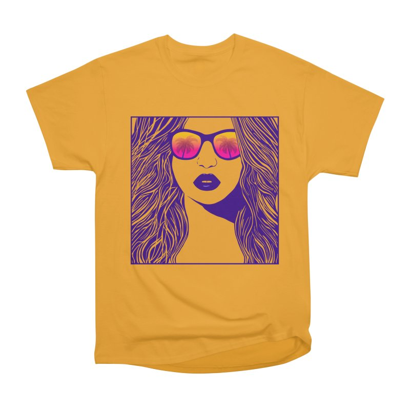 Summertime Women's Classic Unisex T-Shirt by Glitchway Store
