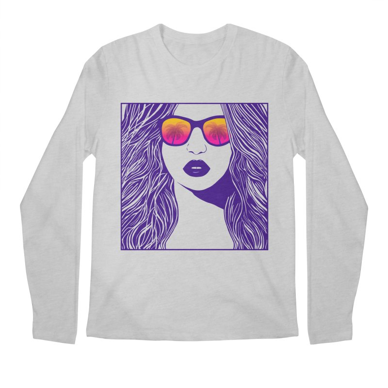 Summertime Men's Longsleeve T-Shirt by Glitchway Store