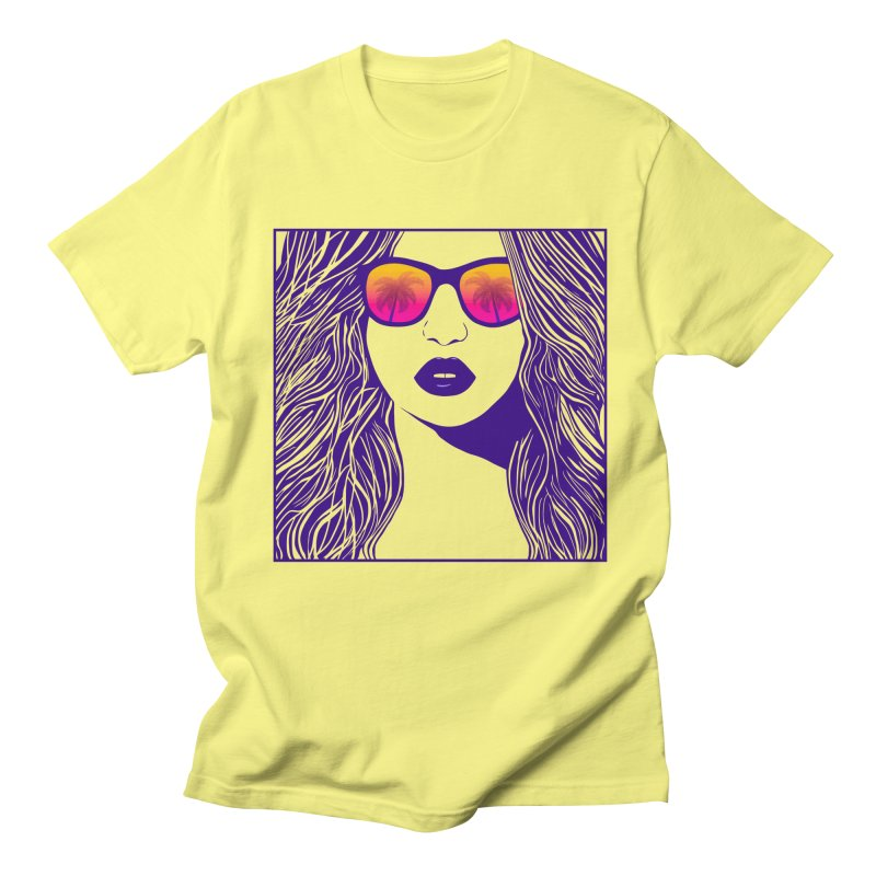 Summertime Women's Unisex T-Shirt by Glitchway Store