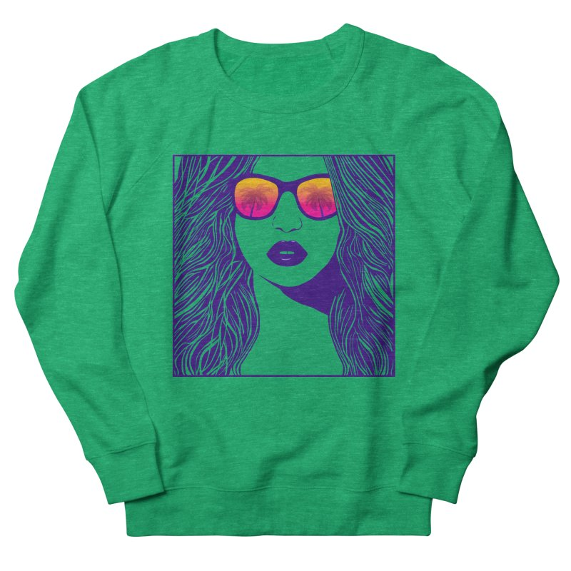 Summertime Women's Sweatshirt by The Glitchway