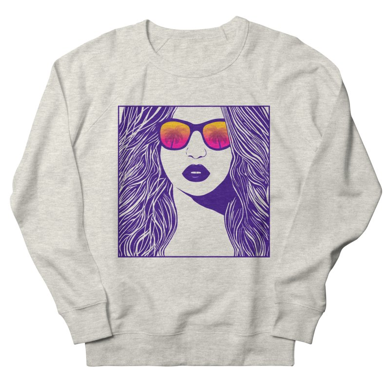 Summertime Women's Sweatshirt by Glitchway Store