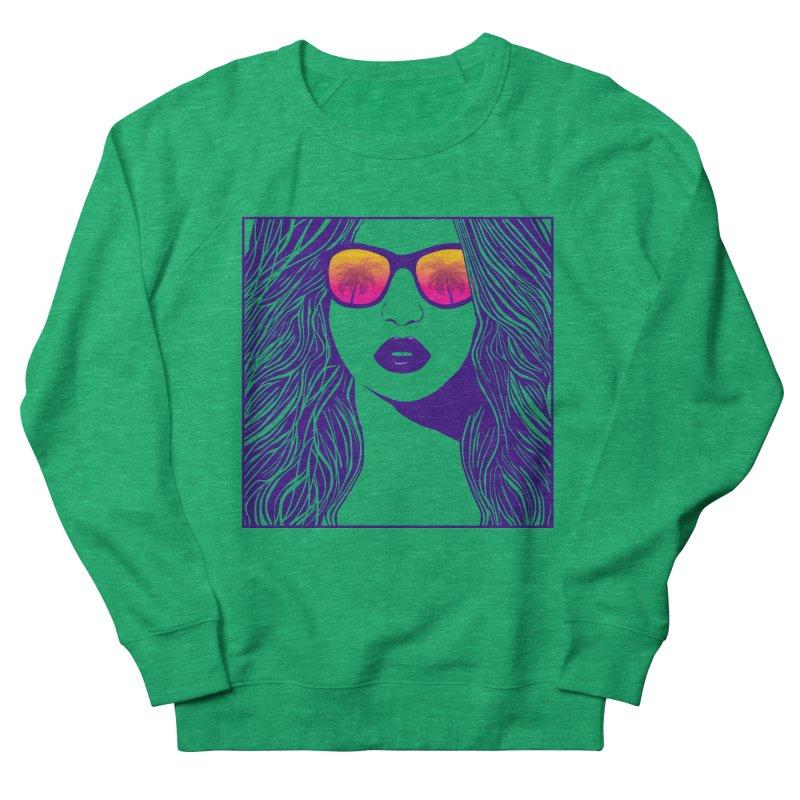 Summertime Men's Sweatshirt by Glitchway Store