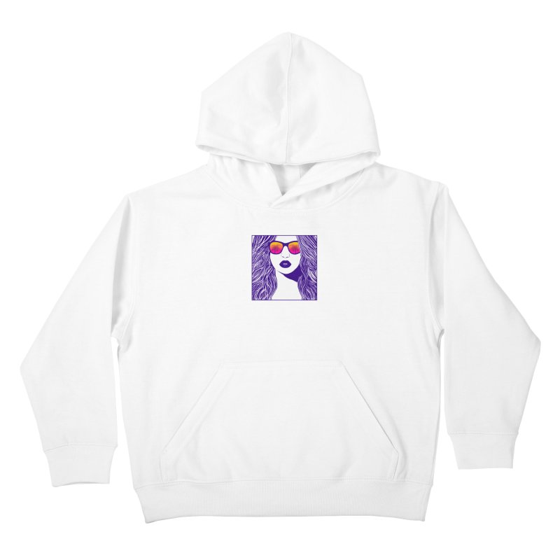 Summertime Kids Pullover Hoody by The Glitchway