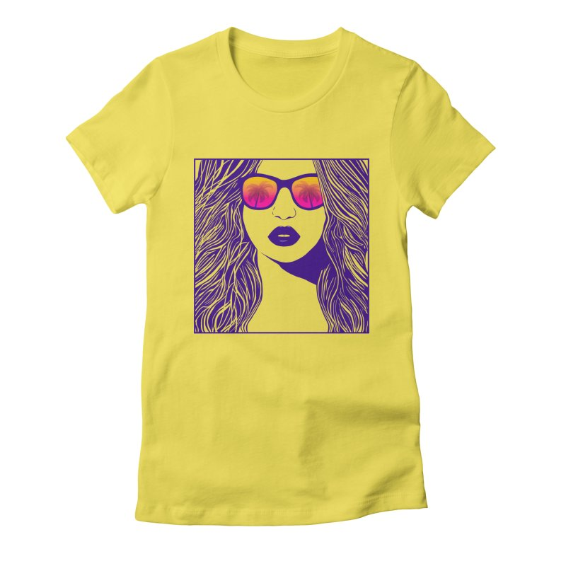 Summertime Women's T-Shirt by The Glitchway