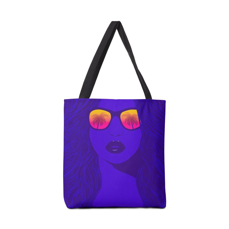 Summertime in Tote Bag by Glitchway Store