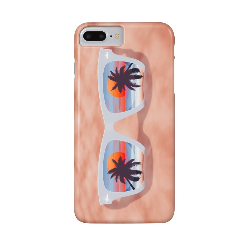 Tropical in iPhone 7 Plus Phone Case Slim by Glitchway Store