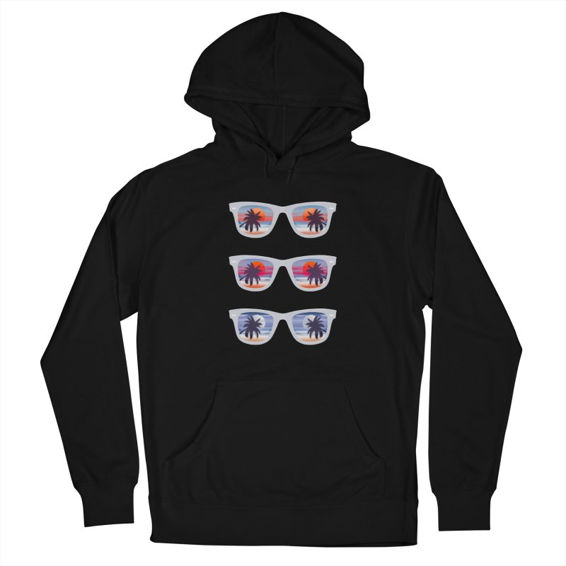 Tropical Women's Pullover Hoody by The Glitchway