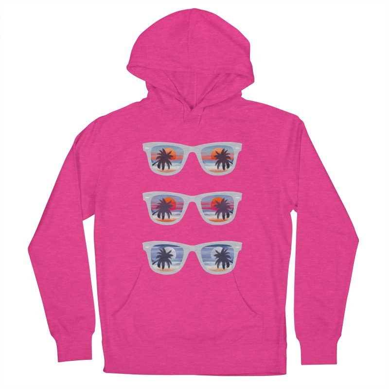 Tropical Women's Pullover Hoody by Glitchway Store