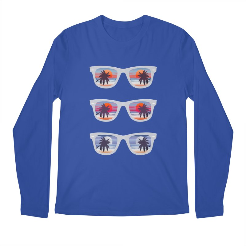 Tropical Men's Regular Longsleeve T-Shirt by The Glitchway