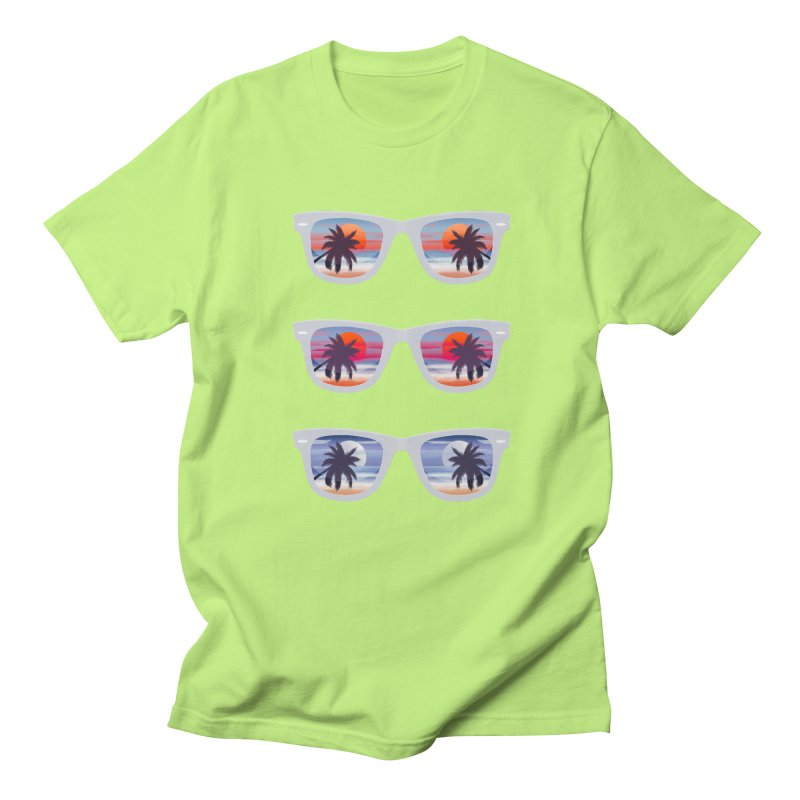 Tropical Women's Unisex T-Shirt by Glitchway Store