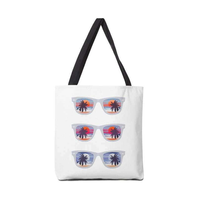 Tropical Accessories Bag by Glitchway Store