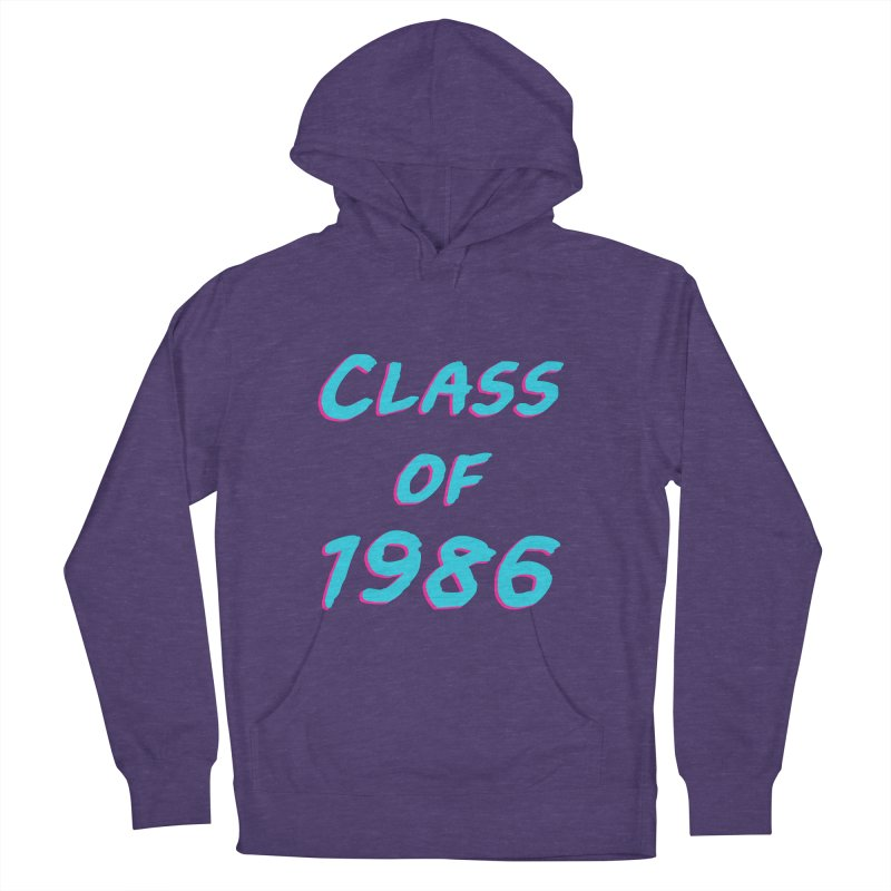 Class Of 1986: Font Women's French Terry Pullover Hoody by The Glitchway