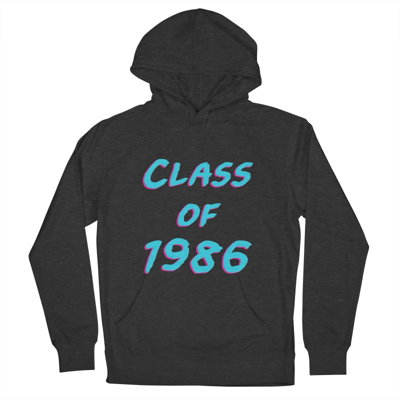 Class Of 1986: Font Men's French Terry Pullover Hoody by The Glitchway
