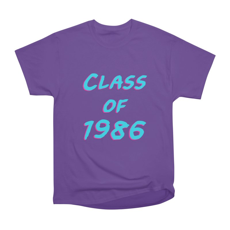 Class Of 1986: Font Men's Heavyweight T-Shirt by The Glitchway